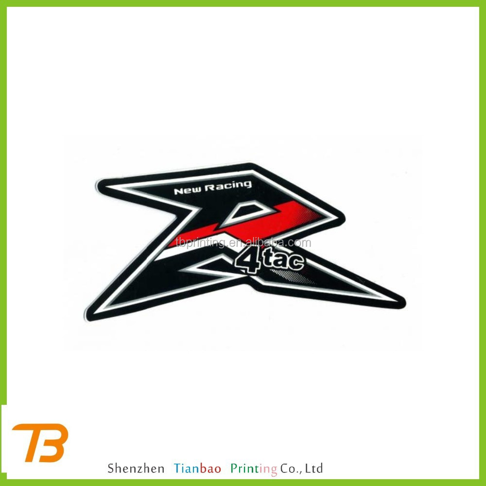 Custom motorcycle sticker sticker design for motorcycle