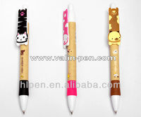 Cute animal top ballpoint pen