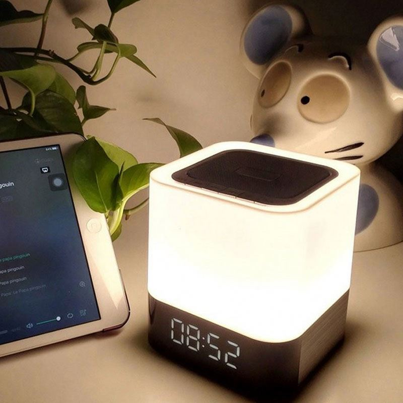 Led Smart Touch Lamp Best Portable Wireless Speaker System