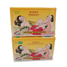 sex product men delay time wet tissue oem