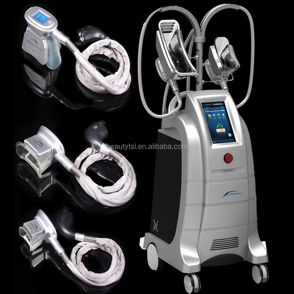White color CE / FDA approved crylipolisis slimming fat freezing cryolipolysis machine CE