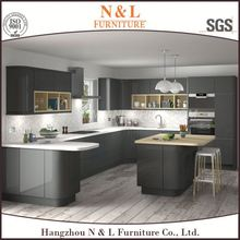 Guangzhou Zhihua white kitchen cabinet with german kitchen cabinet hardware