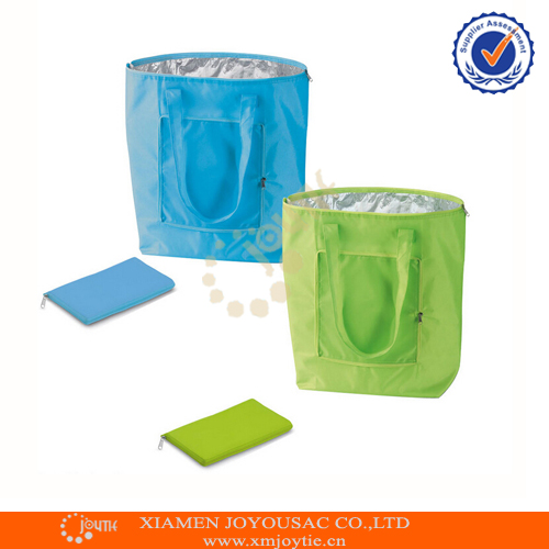 Hot Eco Friendly Thermal Insulation Foldable Lunch Bag Cooler