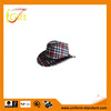 ISO9001 BSCI factory hot sale good quality fleece new fashion plaid hat
