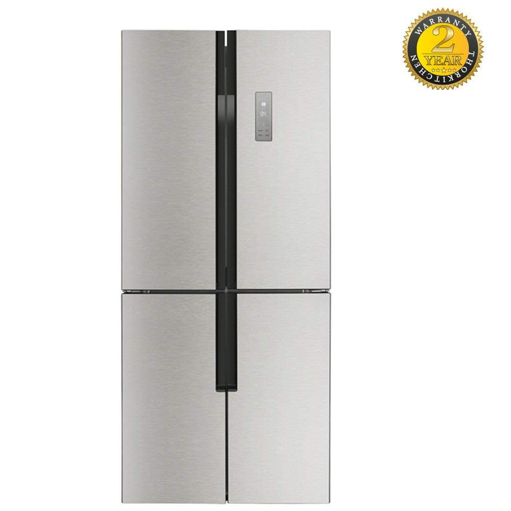 30'' LYCAN French 4-Door Refrigerator Freestanding Stainless Steel 15.3cu.ft LRF3001SS