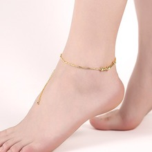 2017 wholesale traditional indian anklets indian gold anklets women anklets