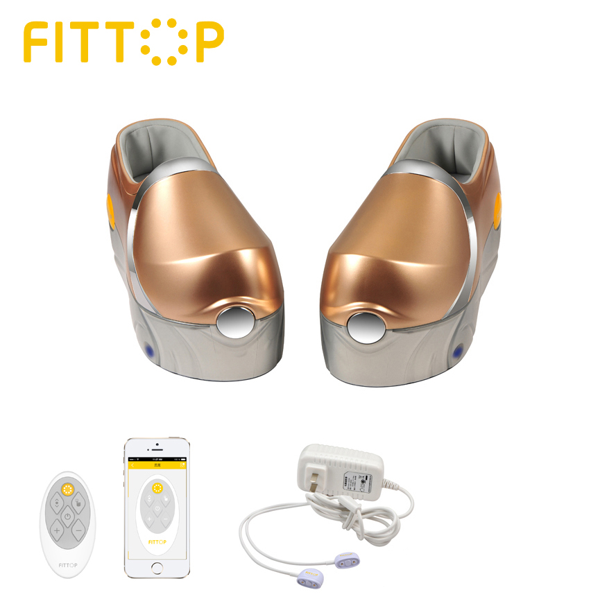 FITTOP Cordless Shiastu Foot Massager with APP control FCW931