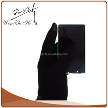 Touch Screen Promotional Handmade Black Men Bicycle Mittens