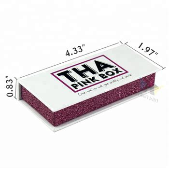 6001b902168 Customized Eyelash Packaging Box With Logo Magnetic Closure - Buy ...