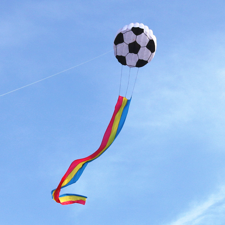 Soft football kite