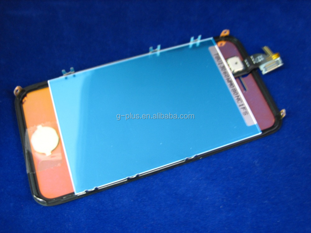 LCD Display+Touch Screen Digitizer+Frame FOR <strong>Iphone</strong> <strong>4g</strong> LF+BC <strong>Gold</strong> Mirror Transparent - 02430-MALFIP4nnnnTMD