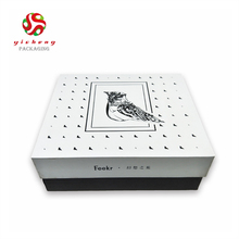 Clear Custom Made Shoe Packaging Box
