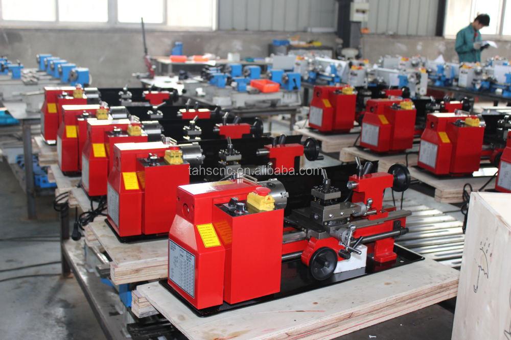 hobby cnc macchine in metallo cq0618 300 mini tornio cnc