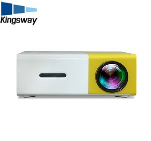 New cheap led mini projector YG300 1080P supported projector YG300 HD USB portable projector YG300