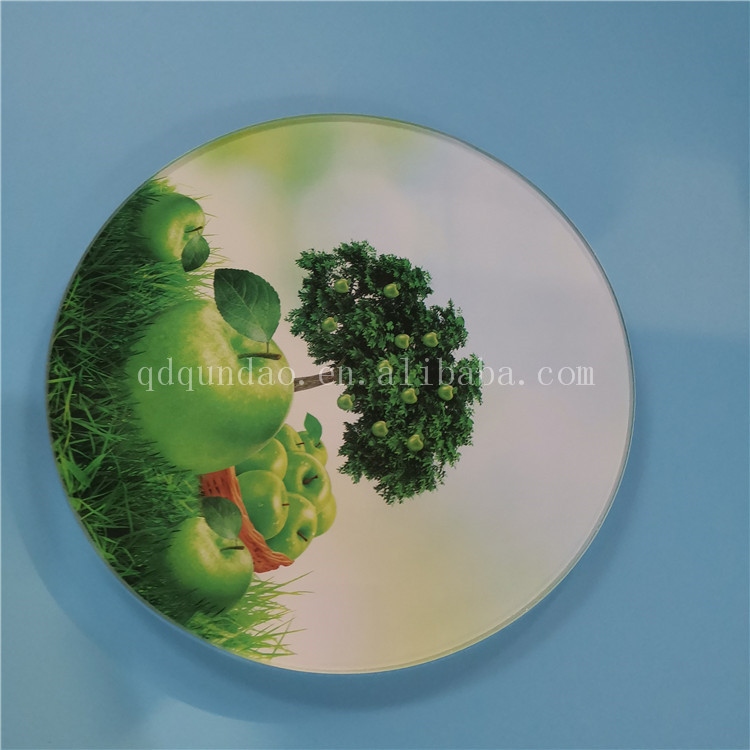 Tempered glass mouse pad table mat coasters for sale