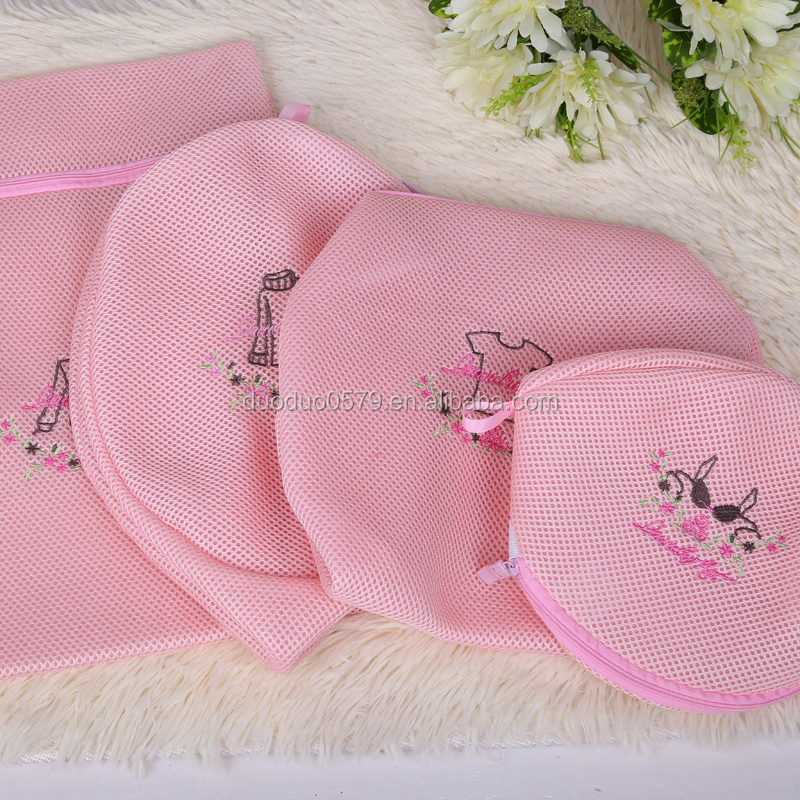 Blouse sock underwear lingerie laundry bag mesh portable washing bag