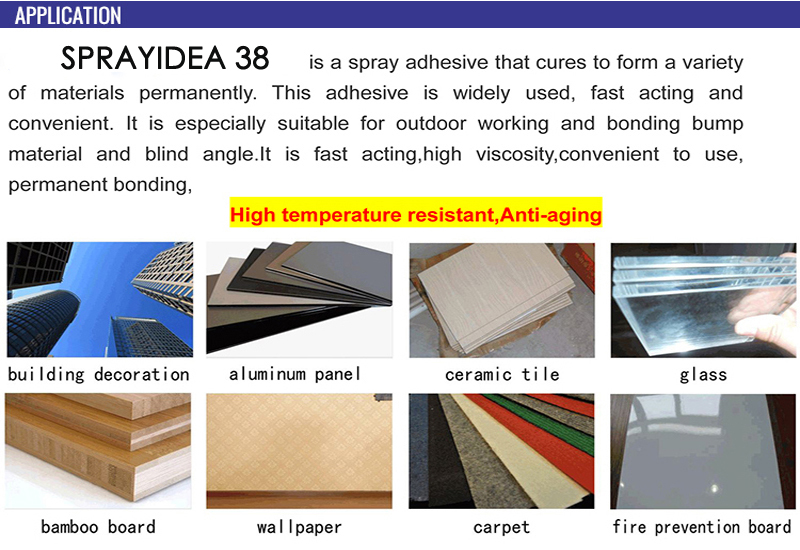 Neoprene Hot Water Resistant Glue Decorative Flooring Glue Construction Lamination Glue
