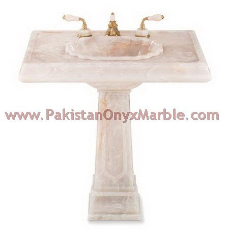 White Onyx Pedestal Sinks, white onyx Vessel Sinks,white onyx Bathroom Sinks