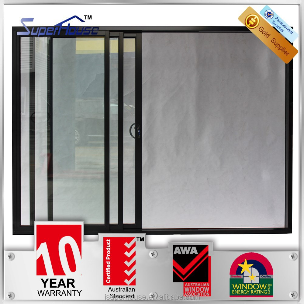 australian standard doppelt verglaste isoliert schalldichte aluminium glasschiebet ren innen und. Black Bedroom Furniture Sets. Home Design Ideas
