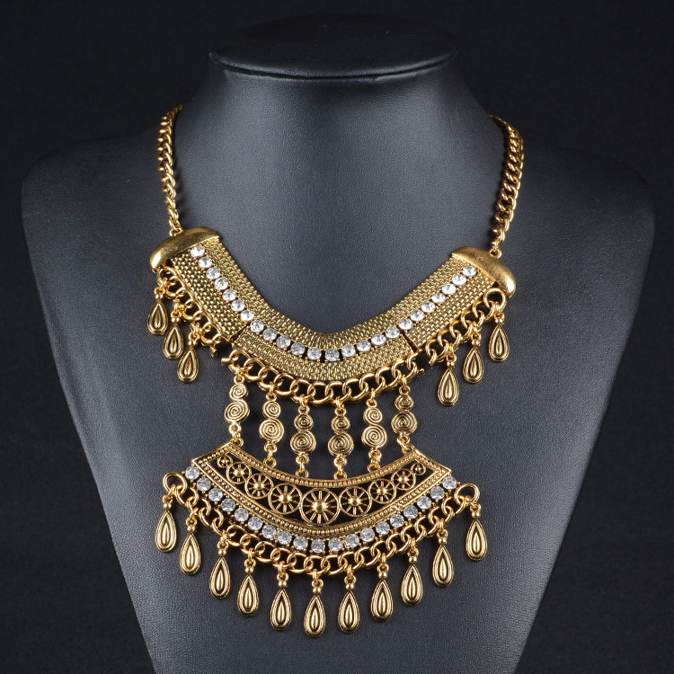 Full Neck Covering Necklace Design, Full Neck Covering Necklace ...