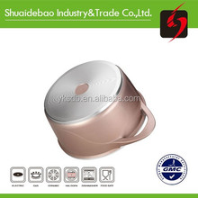 Unique product hard anodized white porcelain die casting cookware