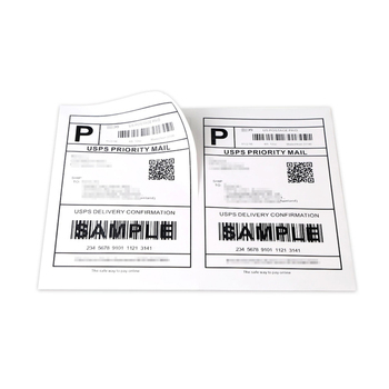 "Half Sheet 8.5"" X 11"" Address Label for Laser & Inject Printers"