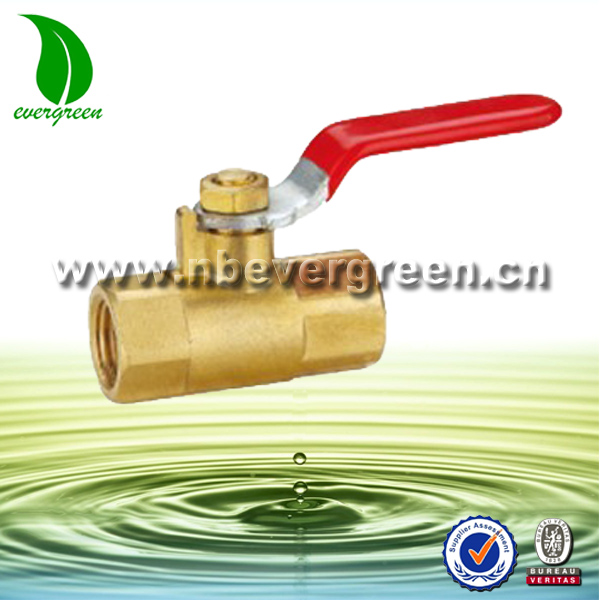 female to female brass valve equal reducing mini ball valve