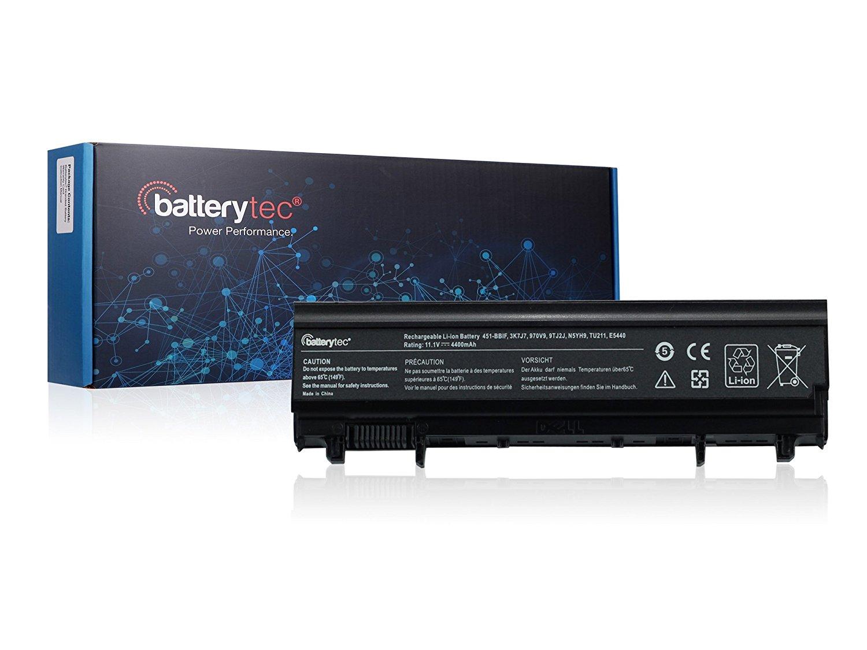 Batterytec® Laptop Battery for DELL Latitude E5440 E5540, DELL Latitude 14 Series, DELL Latitude 14 5000 Series, DELL Latitude 15 Series, DELL Latitude 15 5000-E5540, 312-1351 451-BBID 451-BBIE 451-BBIF 3K7J7 970V9 9TJ2J N5YH9 TU211 VV0NF. [11.1V 4400mAh 1 Year Warranty]