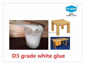 Water resistance D3 grade white color water based adhesive glue for woodworking