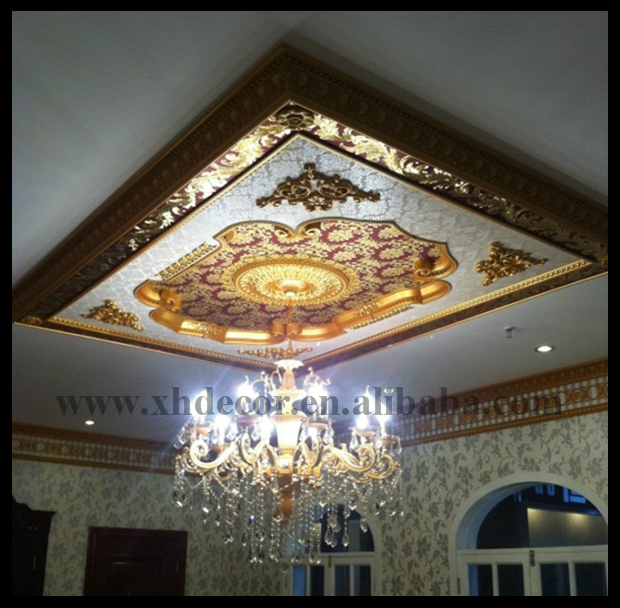 Luxury Square Ceiling Medallion Types Of Ceiling Medallion