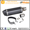 stainless steel muffler exhaust for 50cc 100cc street bike atv go kart racing motorcycle