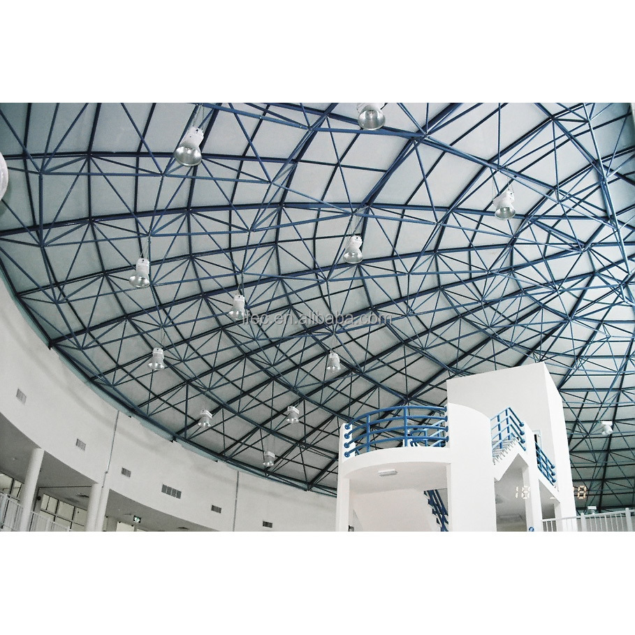 Hot Sale Anti-corrosion Stainless Frame Steel Structure Shopping Mall