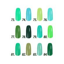 Free shipping Royal Emerald Series 6 pcs Inail Gel Nail Polish 15ml 12 colors for choice