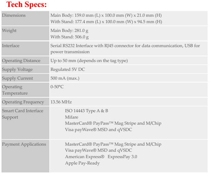 Acr122u Nfc Smart Card Reader - Buy Bus Smart Card Reader,Mastercard,Money  Product on Alibaba com