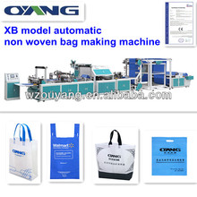 higher speed machinery pp nonwoven bag making machine can make different bags