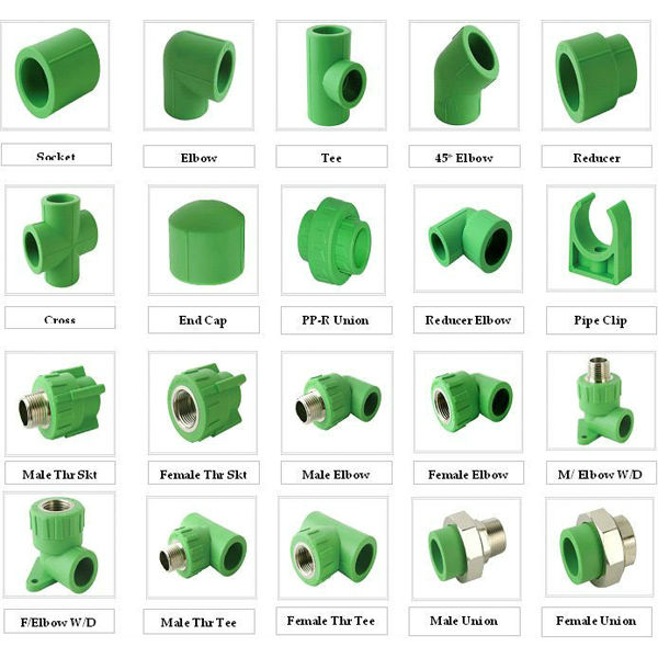 all types of ppr pipe fittings for water ppr pipe fitting buy all types of ppr pipe fittings. Black Bedroom Furniture Sets. Home Design Ideas
