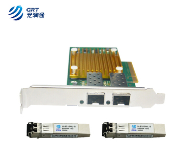 X520-SR2 10Gbps Dual port SFP+ Intel 82599ES Ethernet Server Adapter NIC  card, View Intel 82599ES X520-SR2, GRT Product Details from Beijing Guang  Run