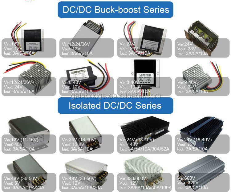 12V DC to 19V DC converter power supply, 3A/5A/8A, Manufacturer, Customization available