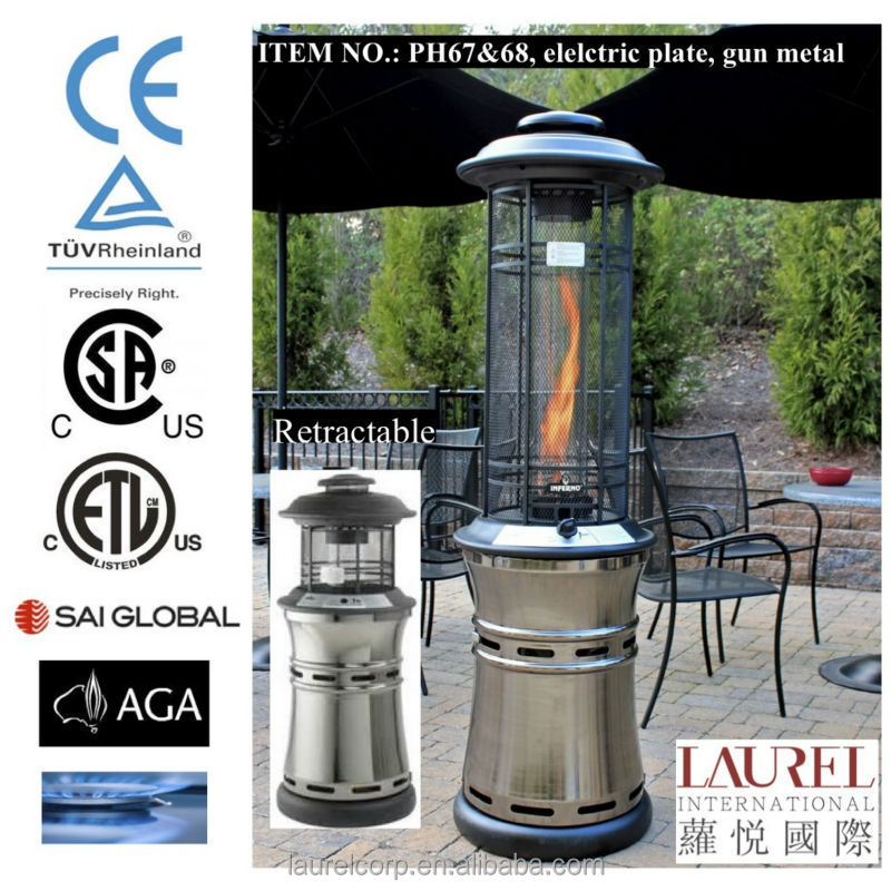 Inferno Series Gas Patio Heater Buy Decorative Gas