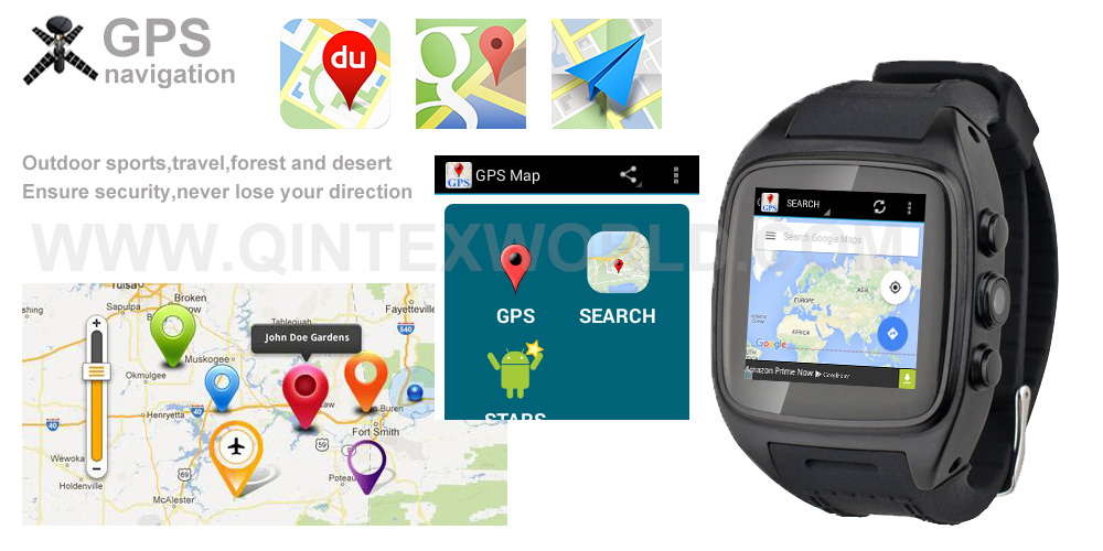 Brilliant Android Oem Smart Watch Gps Micro Sim Card Watch ...