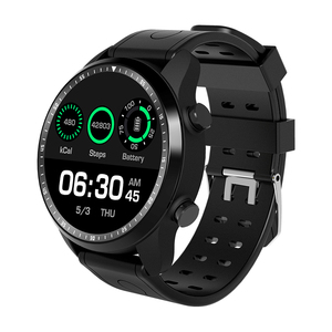 KC06 4G network, WIFI,SIM Card; download;GPS,support IOS and Android ,Heart rate,pedometer, Music,smart watch