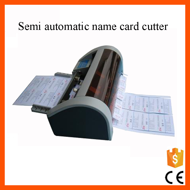 Paper Size Adjustable A4 Electric Business Card Cutter With Ce ...