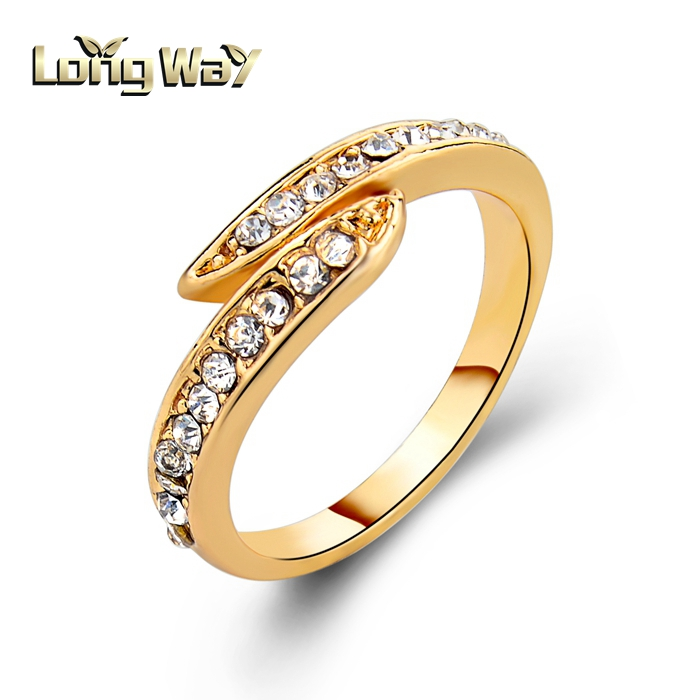 Latest Gold Finger Ring Design Wedding Ring For Women View Gold Wedding Ring Longway Product Details From Yiwu Long Way Jewelry Co Ltd On Alibaba Com