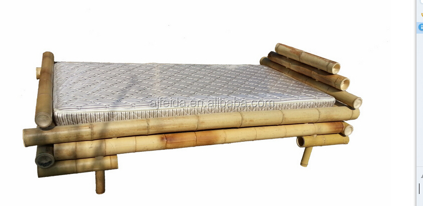 carbonized bamboo bed