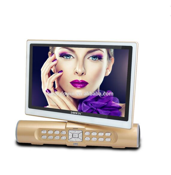 portable 10inch led television tv with 2 speaker, bluetooth, TV system NTSC/PAL/SECEAM