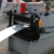 Steel sheet c shape z section profile purlin making machine with punching machine