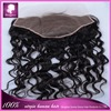 Free Part Brazilian Hair Front Closures 13x7 Brazilian Deep Wave Hair Front Closures #1B Brazilian Human Hair Frontal closures