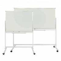 Free Standing Reversible Double Sided Dry Erase White Board Magnetic Mobile Whiteboard Stand