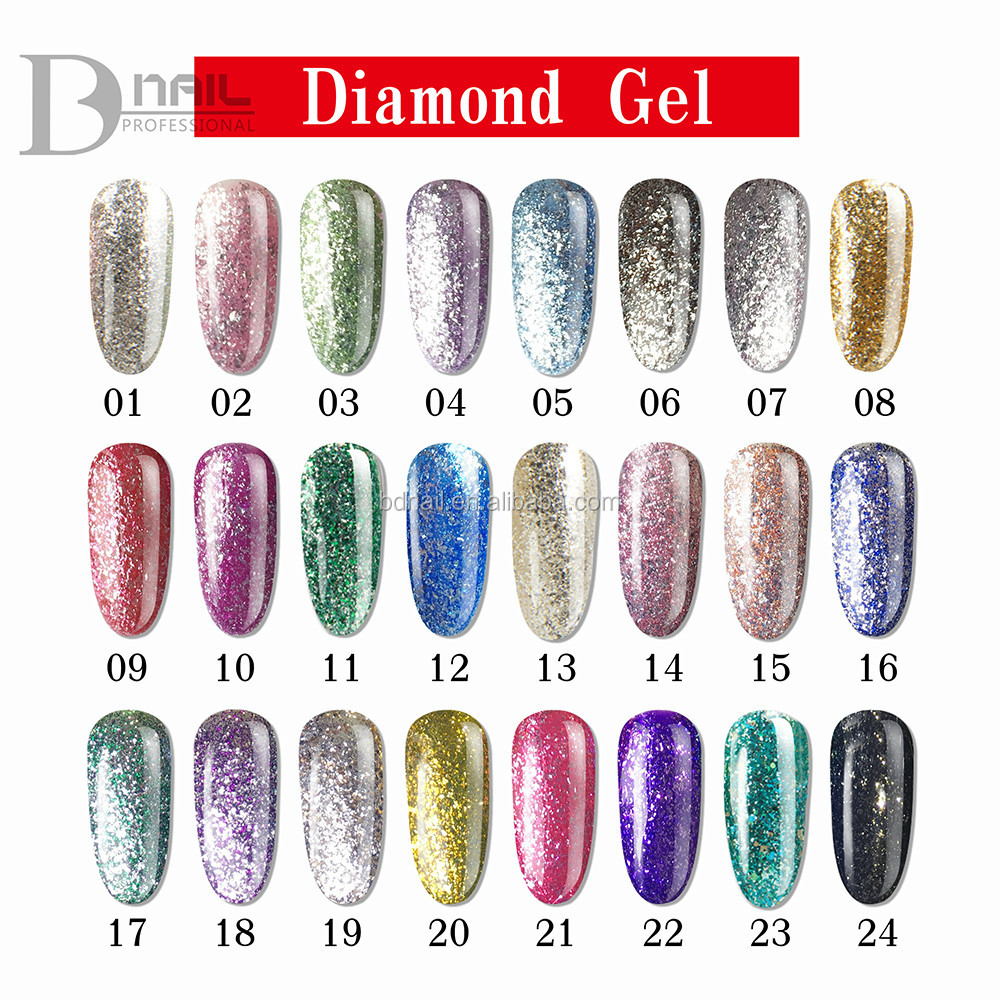 2017 Private Label Diamond Gel,Platinum Gel Polish For Professional ...