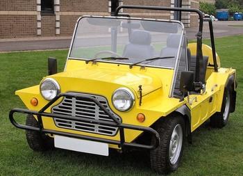 Klasik Off Road Kendaraan Mobil Buggy Pantai Morris Mini Kedelai